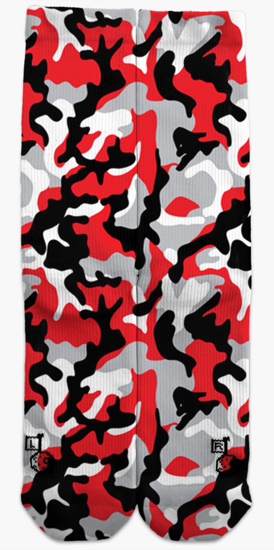 Red Amp Black Camo Sockcess Customs